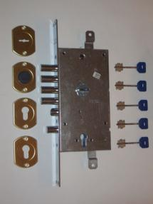 Поменять замок в металлической двери срочно - Fiam